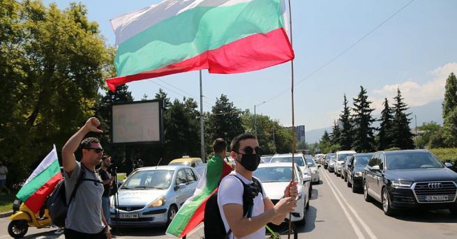 """Протестиращи блокираха АМ """"Марица"""" при пътен възел """"Капитан Андреево"""". Акцията"""
