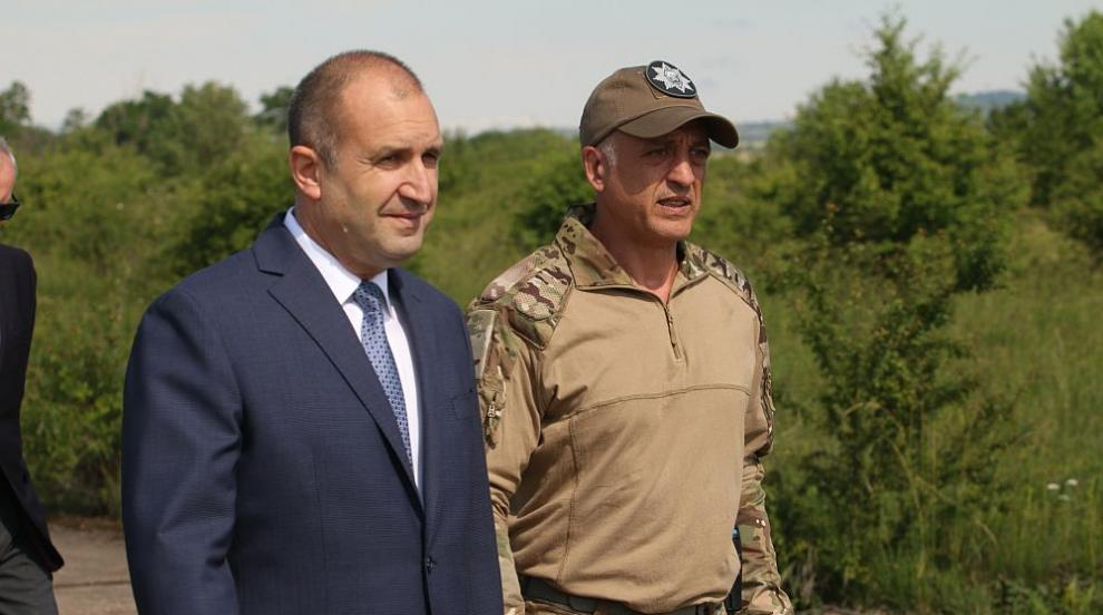 Полковник Емил Тонев е новият началник на НСО