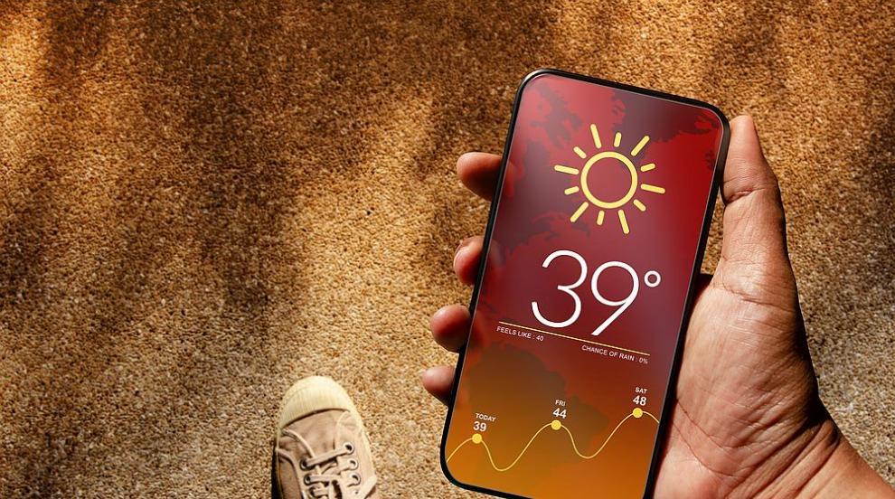 Термометрите в Русе отчетоха 39 градуса на сянка