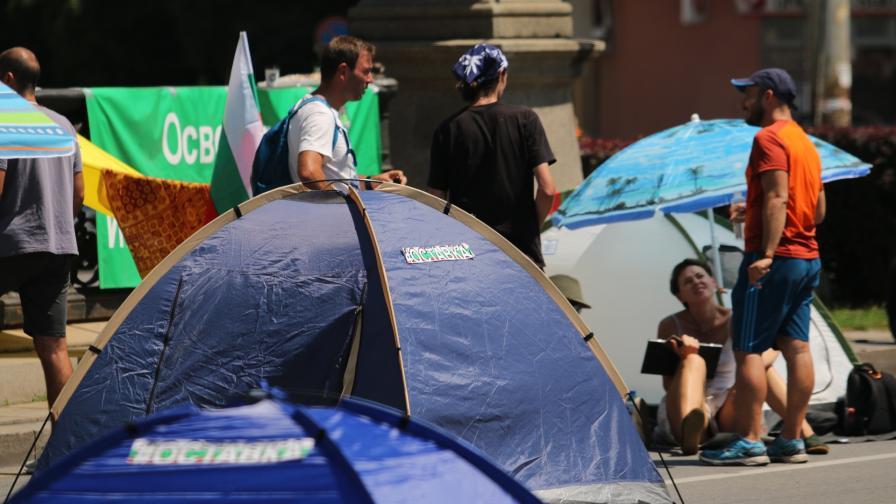<p>22-и ден на антиправителствени протести в страната</p>