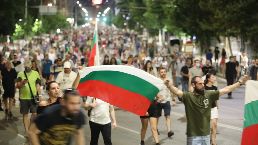 Антиправителствени протести - 22-и ден