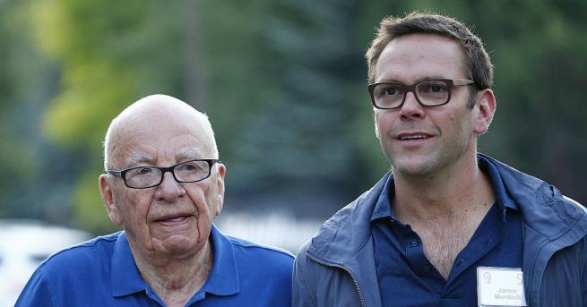 """Бившият изпълнителен директор на """"21st Century Fox"""" Джеймс Мърдок, син"""