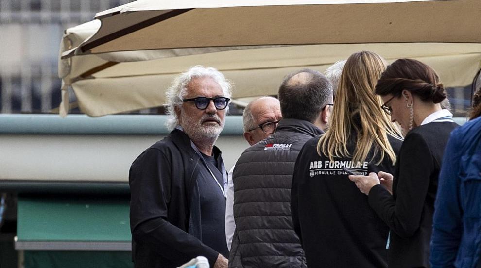 Флавио Бриаторе с нова любов, 46 години по-млада от...