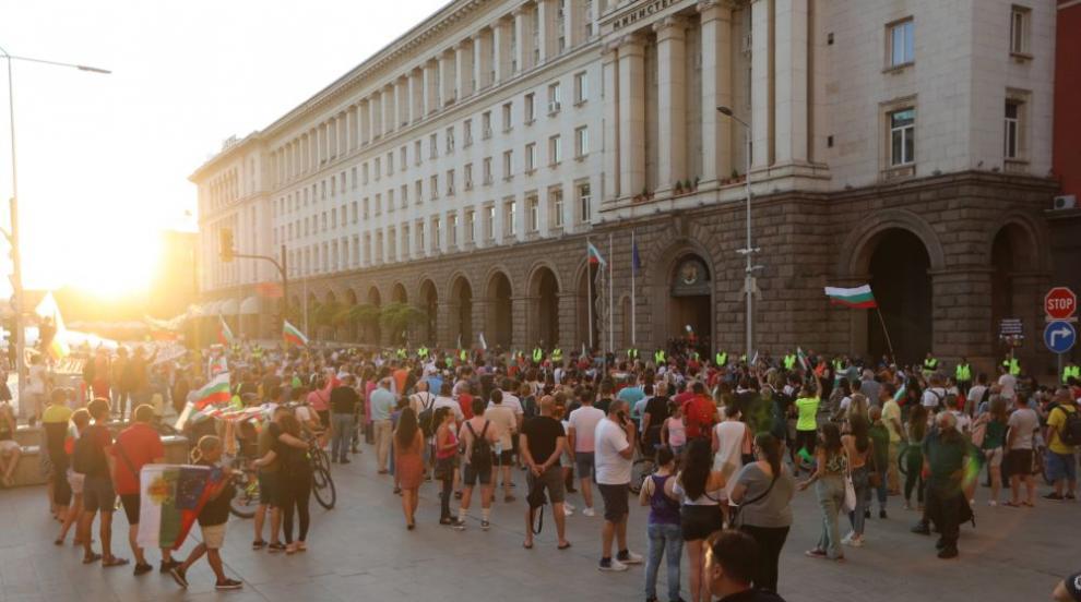 30-и ден на антиправителствени протести