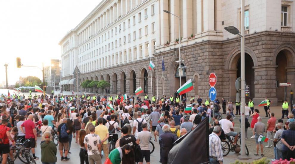 28-и ден на антиправителствени протести (ВИДЕО)