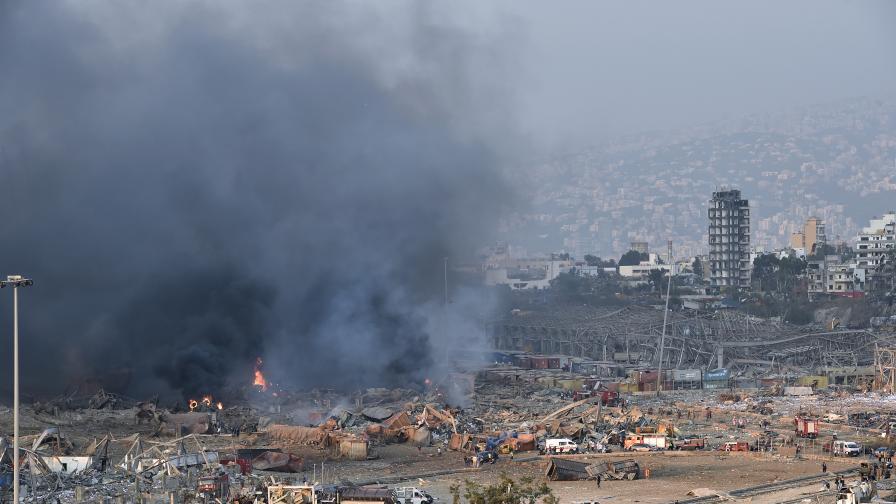 Страшни взривове недалеч от посолството на България в Ливан, загинали