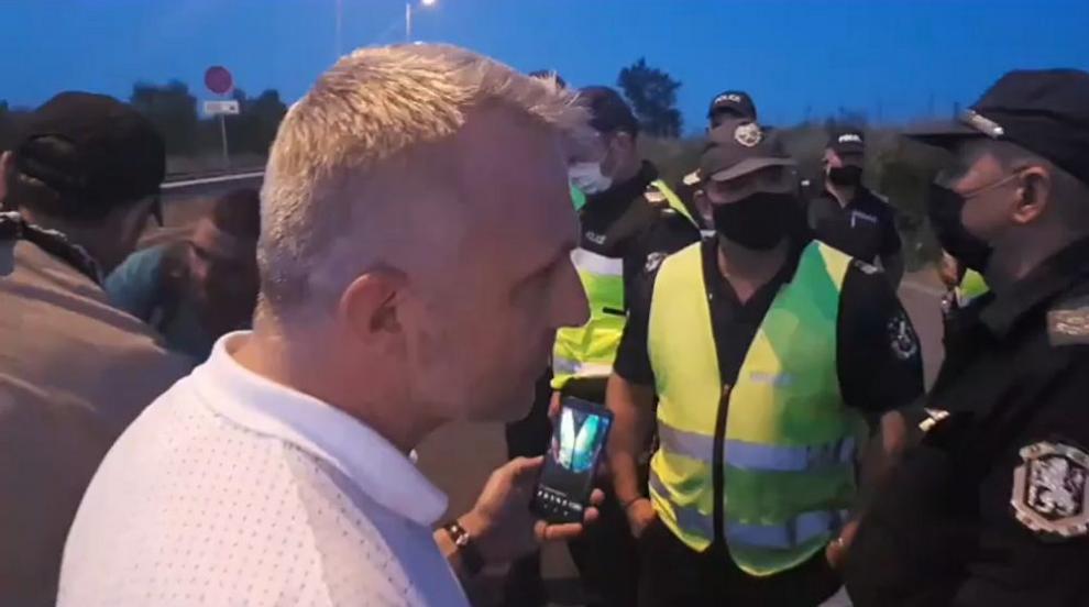"""Полицията прекрати блокадата на """"Капитан Андреево"""""""