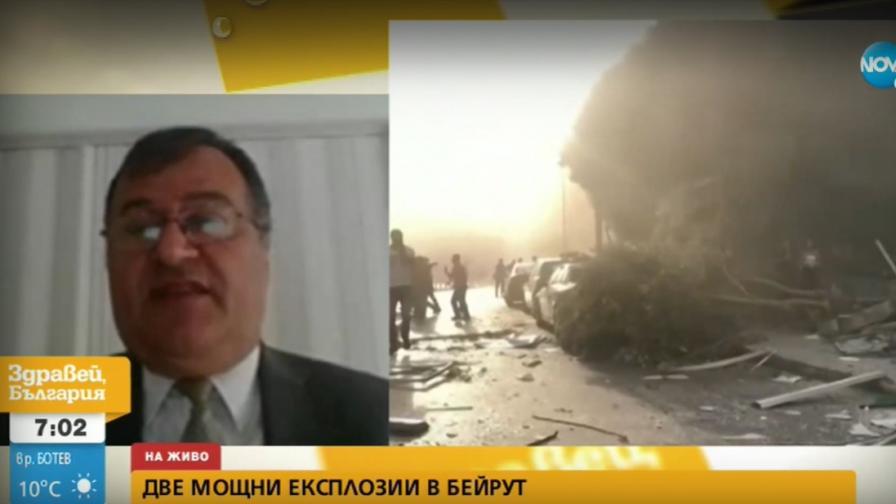 Българският посланик в Бейрут разказа за взривовете