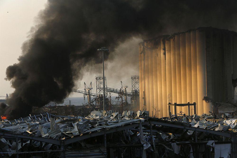 Eксплозии разтърсиха Бейрут