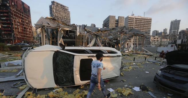 Броят на загиналите при вчерашната експлозия на пристанището в Бейрут