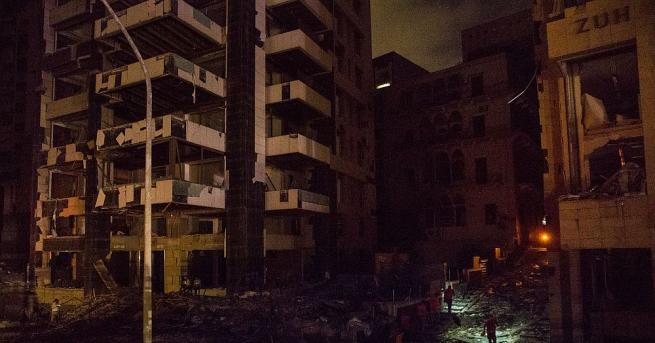 Размерът на щетите, причинени от експлозията в Бейрут, може да