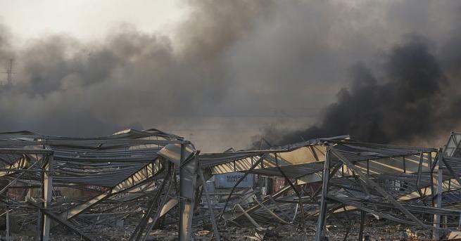 Товарът от амониева селитра, който избухна в Бейрут, според ливанските