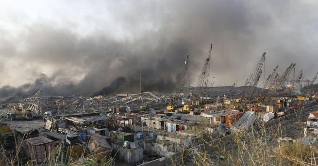 Президентът на Ливан Мишел Аун заяви днес, че взривът в