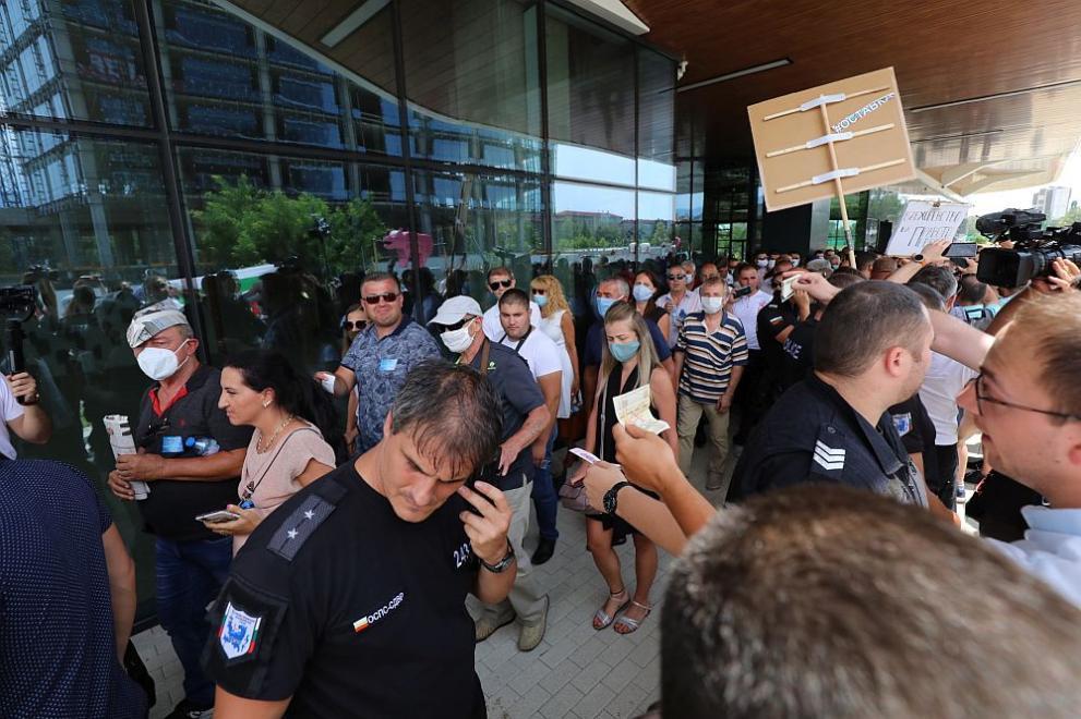 протестиращи София тех парк
