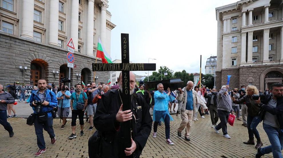 28-и ден на антиправителствени протести (СНИМКИ/ВИДЕО)