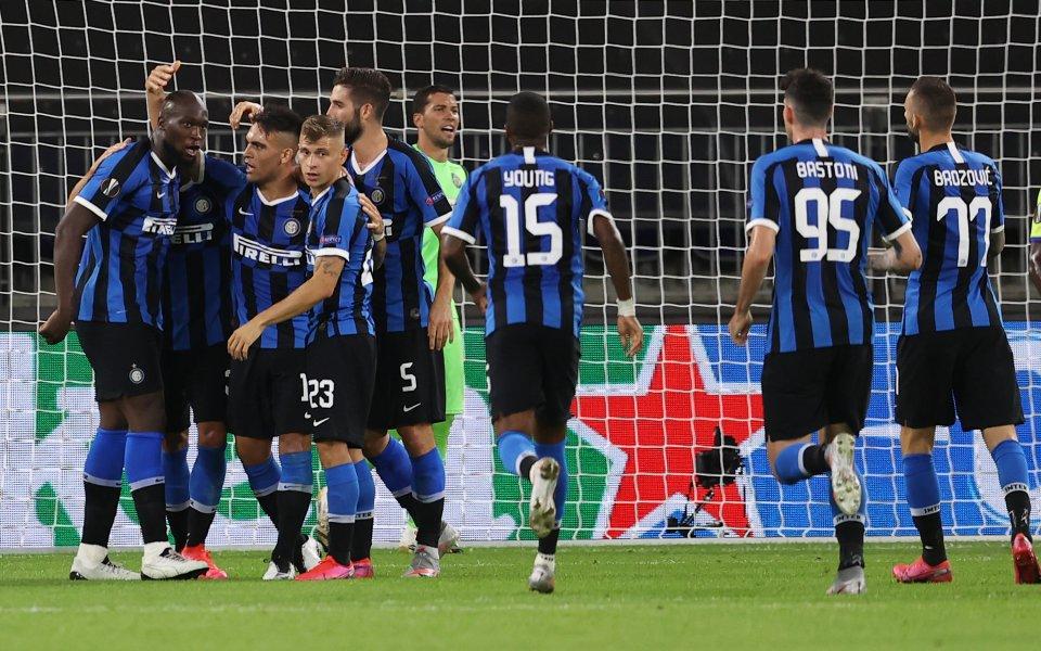 Отборите на Интер и Хетафе играят при резултат 1:0 в