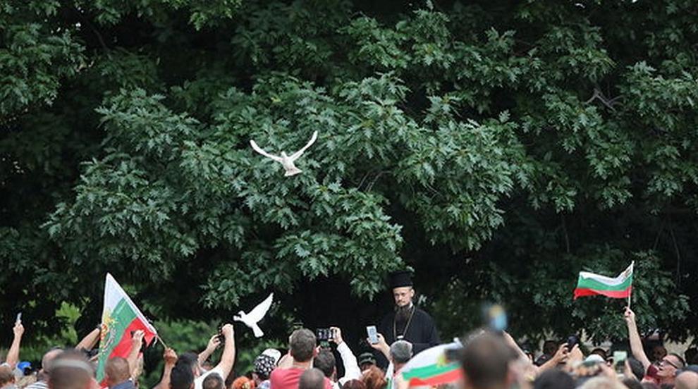 29-и ден на антиправителствени протести, замеряха с...