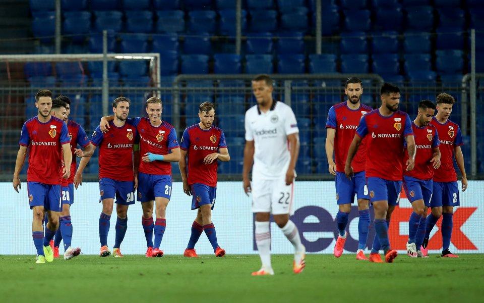 Отборът на Базел постигна минимална победа с 1:0 срещу Айнтрахт