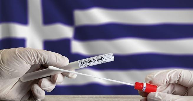 В Гърция вече пети пореден ден числото на новорегистрираните заразени