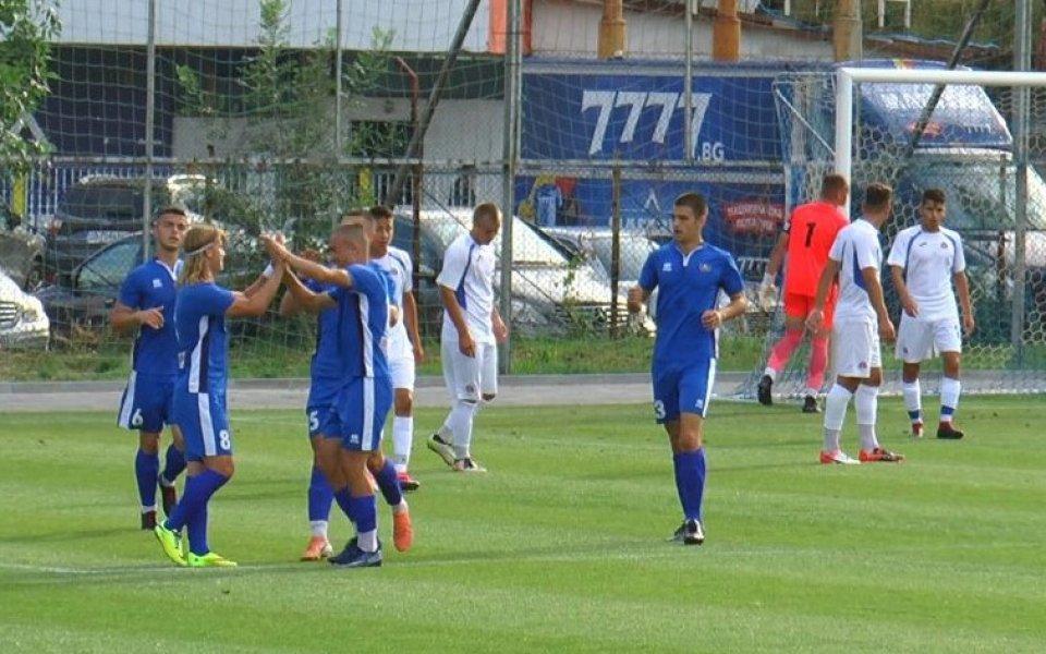 Юношите на Левски до 19 години стартираха с убедителна победа