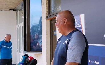 Пресконференция на Георги Тодоров преди мача с Берое