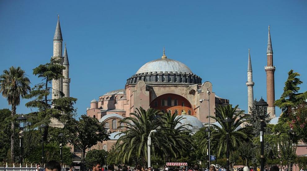 Скритите тайни на Света София в Истанбул (СНИМКИ)
