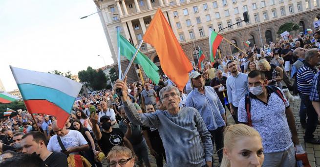 Започна 32-рият антиправителствен протест в София. Трите възлови кръстовища –