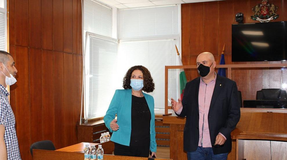 Иван Гешев разговаря с магистратите от Апелативен...