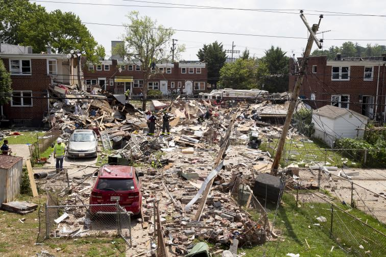 Балтимор взрив