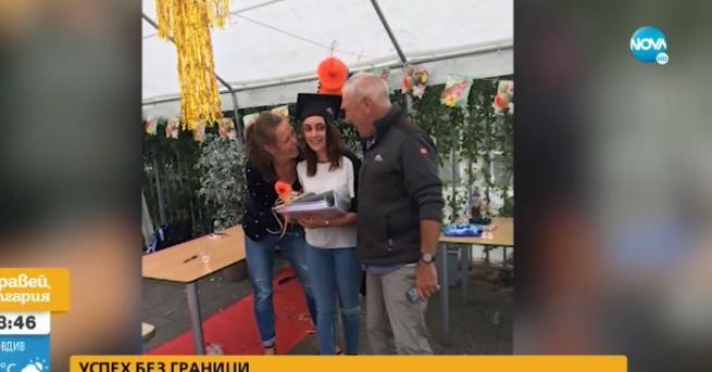 България Българка стана лице на гимназия в Нидерландия Александрина е