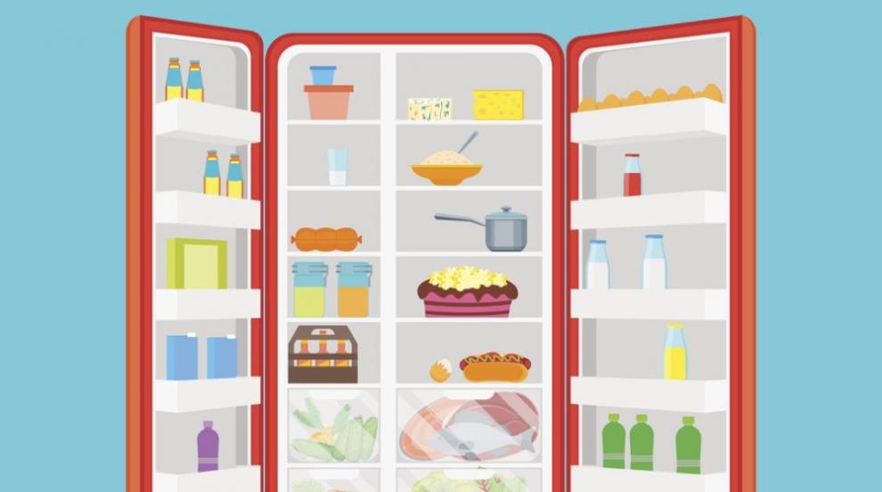 Как правилно да съхранявате храната в хладилника?