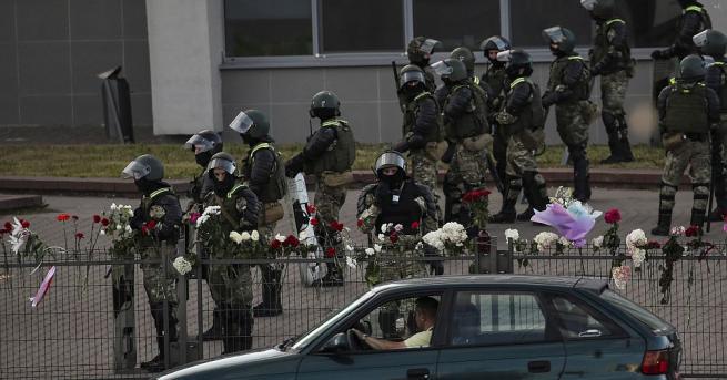 Демонстрациите в Беларус продължават вече пети ден след президентските избори,