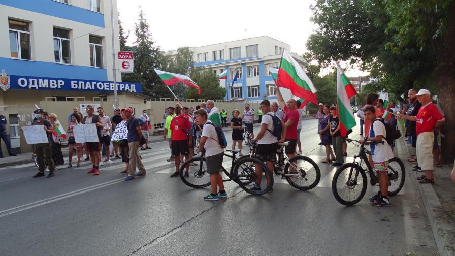 Защо техника от протестите се прибира на склад в Община Благоевград