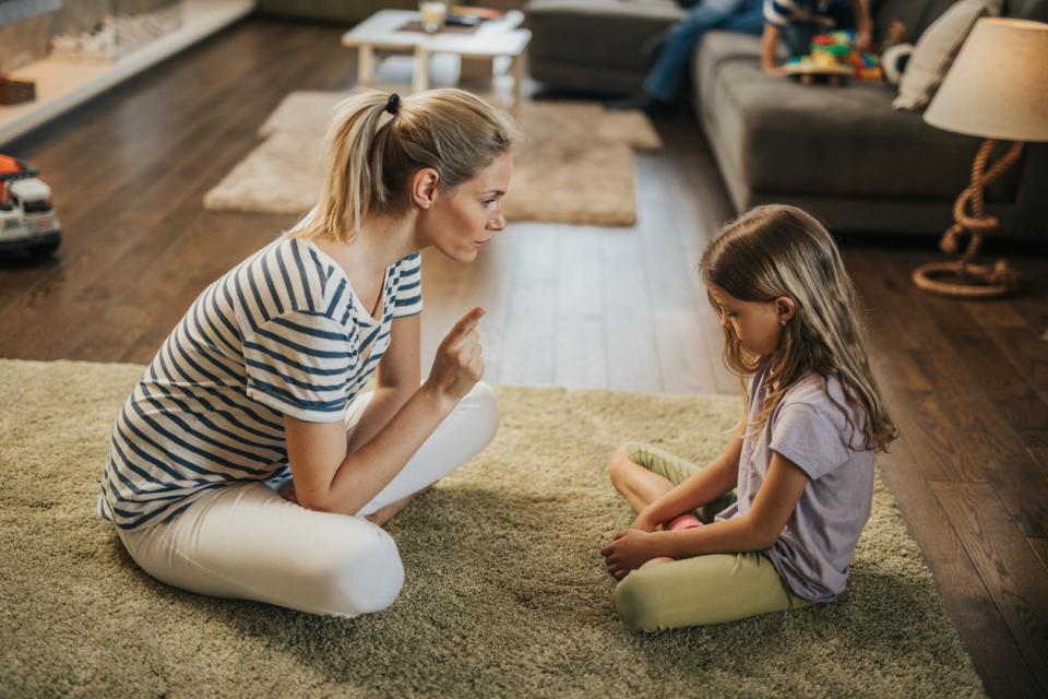 дете деца родители майка наказание