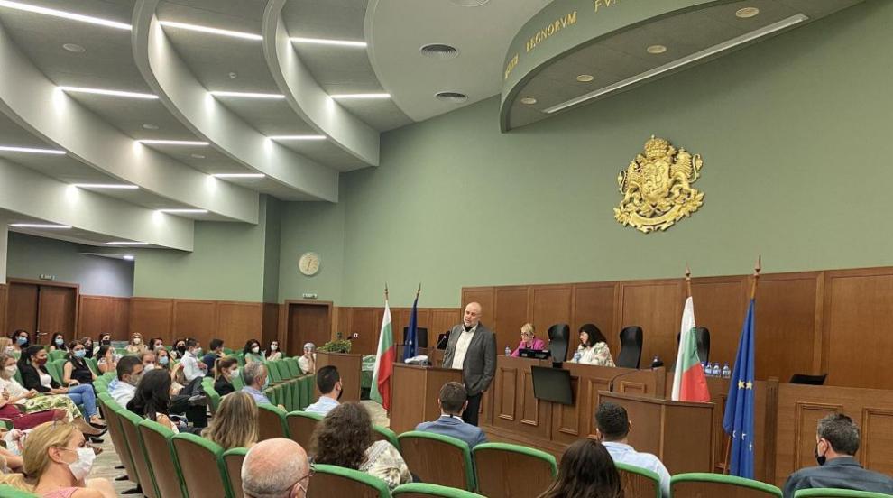 Гешев участва в работно съвещание с прокурори от Софийска районна прокуратура (СНИМКИ)