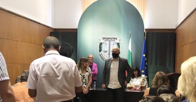 Главният прокурор на Република България Иван Гешев и заместниците му