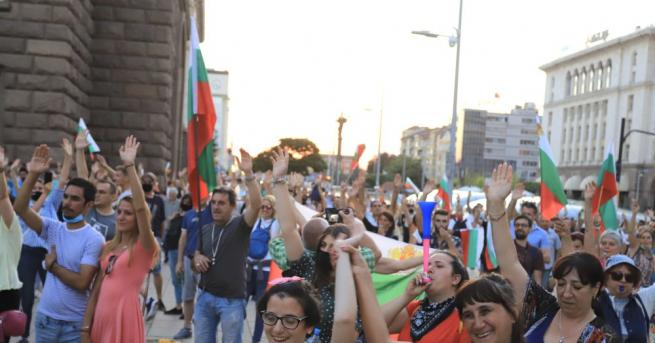 36-ият ден на протести започна с обсада и завършва с