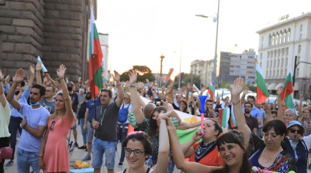 36-ти ден на протести в страната и нова блокада в София...