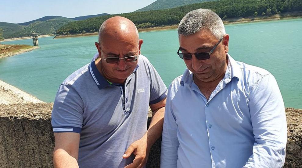 Екоминистърът провери язовирите по Черноморието, и в...