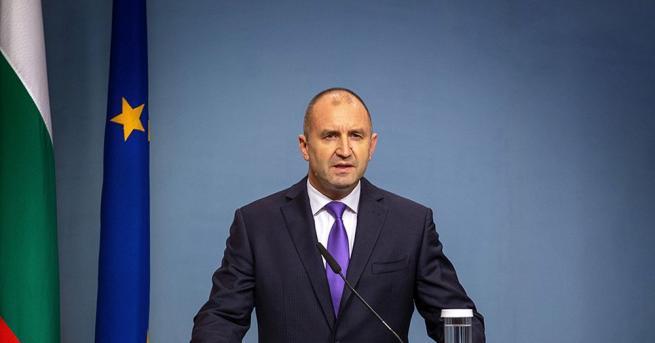 Президентът Румен Радев не подкрепи инициативата на премиера за свикване