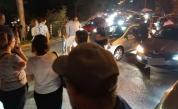 Отново блокада пред Румънското посолство, напрежение