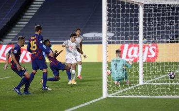 Барселона не е допускал 8 гола от 74  г.