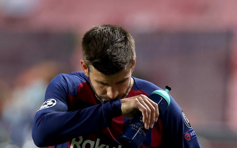 Централният защитник на Барселона Жерард Пике бе изключително критичен след