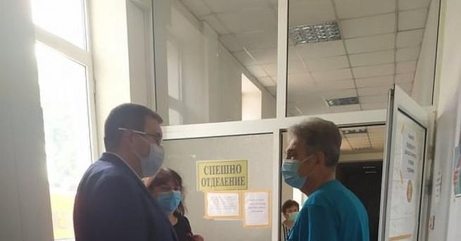 """""""В момента в областната болница в Кюстендил са настанени четирима"""
