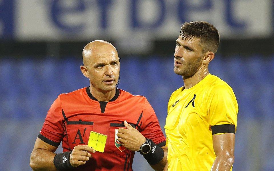 Българският футболен съюз обяви кои родни рефери ще ръководят срещите