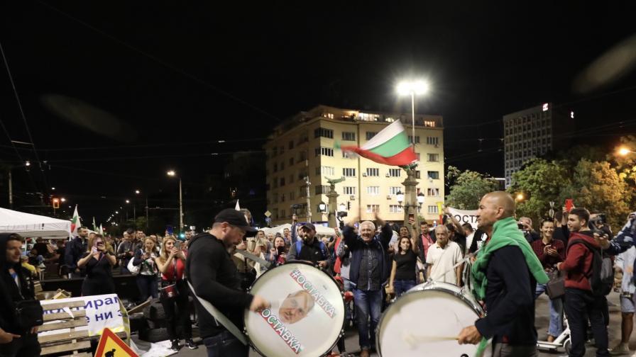 """42-ри ден на протести, блокада на ГКПП """"Дунав мост"""""""