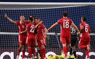 Байерн Мюнхен не остави шанс на Лион и ще спори за трофея в Шампионската лига