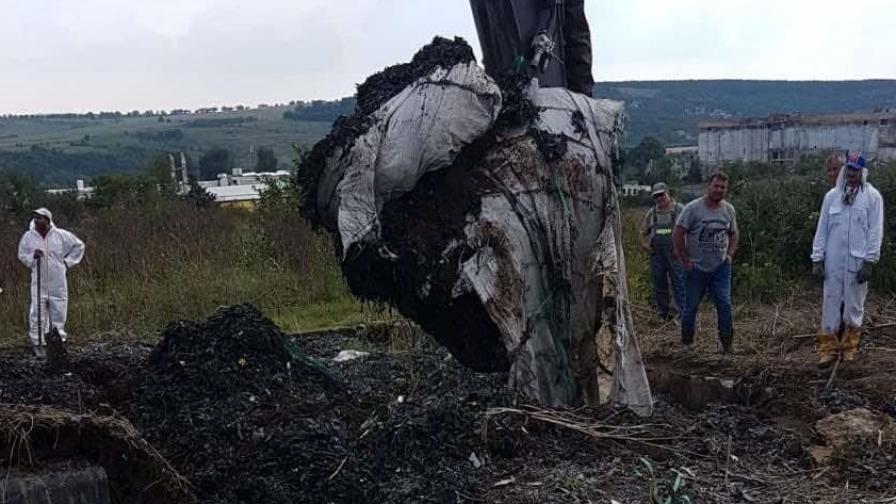 Приключи огледът в землището край Червен Бряг, 210 т е откритият опасен отпадък