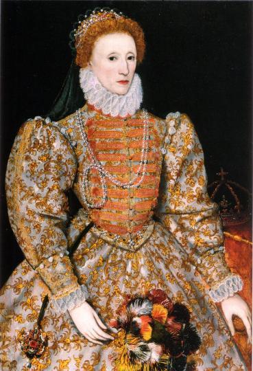 <p><strong>Кралица Елизабет I</strong><o:p></o:p></p>  <p>Елизабет I е родена в Англия на 7 септември 1533 г. Тя е дъщеря на крал Хенри VIII и втората му съпруга Ан Болейн.<o:p></o:p></p>  <p>Още в ранна възраст губи майка си, която е обезглавена по заповед на Хенри VIII. <strong>След жестока семейна драма около наследството на трона, през 1558 г. Елизабет става кралица на Англия и Ирландия и управлява до смъртта си през 1603 г.</strong><o:p></o:p></p>  <p>Заемайки мястото на своята лабилна полусестра кралица Мария (известна като Кървавата Мери), Елизабет започва да води страната към разцвет. <strong>По време на нейното &bdquo;златно&ldquo; управление Англия разширява териториите си значително, а Шотландия сключва мир с Франция.</strong><o:p></o:p></p>  <p>Прокарва се и закон, според който всички работоспособни мъже трябва да обработват земите.<o:p></o:p></p>  <p><strong>По време на нейното управление се обръща голямо внимание на литературата и изкуствата</strong>, а автори от този период като Уилям Шекспир, Кристофър Марлоу, Бен Джонсън оставят своя отпечатък в световната литература и драматургия и до днес.<o:p></o:p></p>  <p><o:p>&nbsp;</o:p></p>