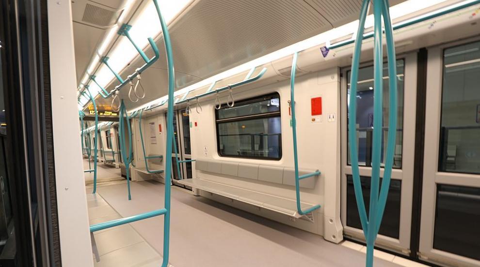 Спряха временно метрото между 2 станции от третия лъч